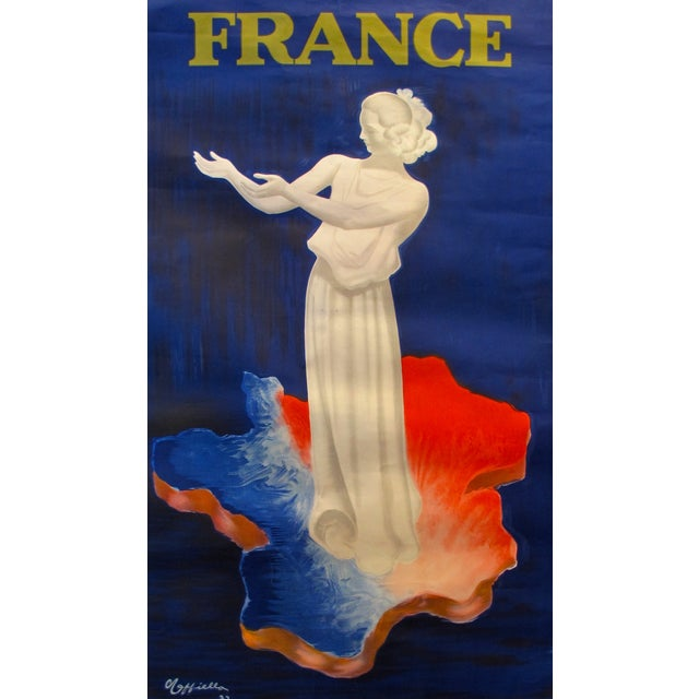 Vintage French 1937 Cappiello Poster - Image 1 of 4