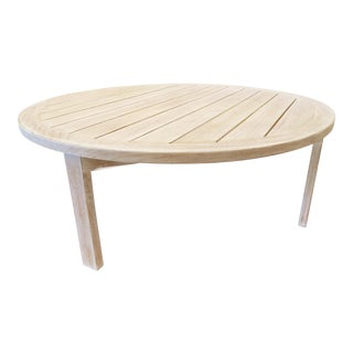 Custom Teak Coffee Table