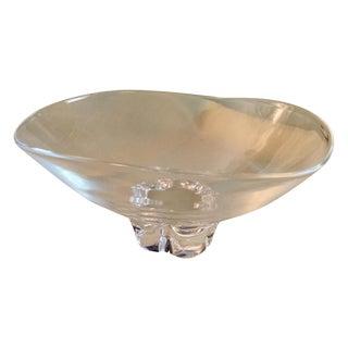 Steuben Crystal Trillium Bowl