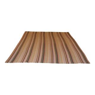 Dash & Albert Multi Colored Stripe Cotton Rug - 8′ × 10′