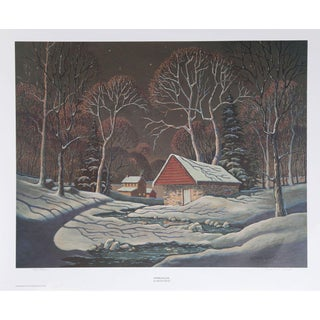 Vernon Wood, Springhouse, Offset Lithograph