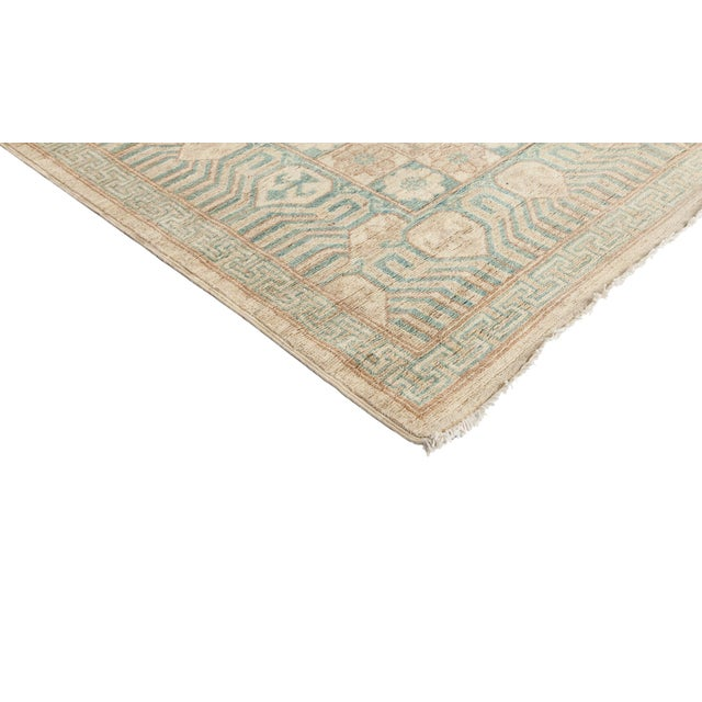 "New Khotan Hand-Knotted Rug - 9' 10"" X 13' 9"" - Image 2 of 3"