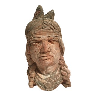 Stone Indian Chief Mold