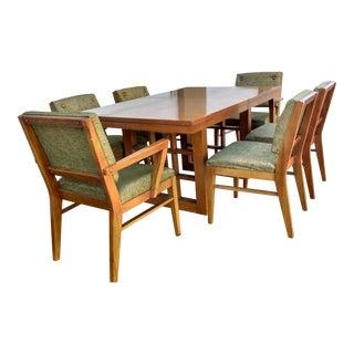 Mid-Century Modernist Dining Set- 7 Pieces
