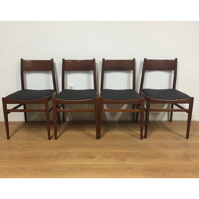 Italian Mahogany Dining Chairs - Set of 4 - Image 2 of 11