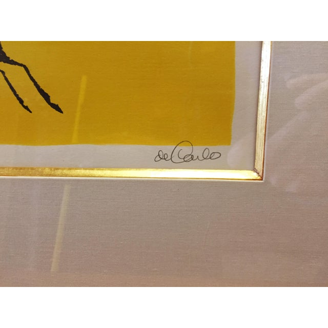 Vintage Keith DeCarlo Signed & Framed Lithograph - Image 5 of 6