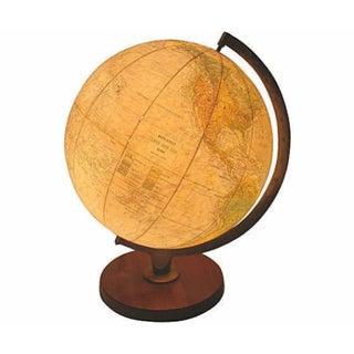 Vintage Lighted World Globe