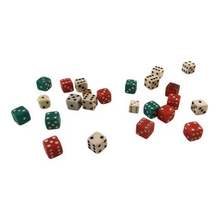 Vintage Dice - Set of 12