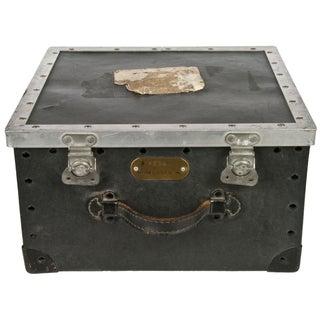 Vintage Western Electric Black Fiberboard Storage