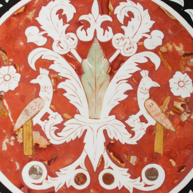 Vintage Pietra Dura Mosaic Side Table - Image 2 of 8
