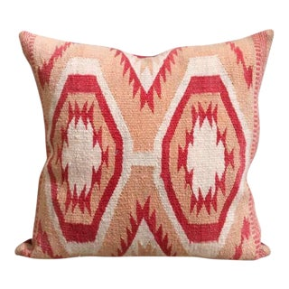 Early Wide Ruins Navajo Woven Pillow