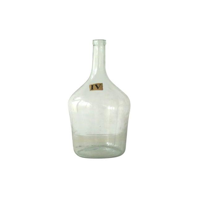 Vintage Green Glass Demijohn Bottle - Image 1 of 9