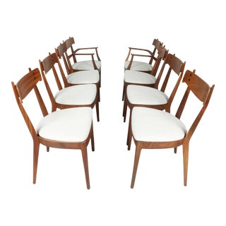Kipp Stewart for Drexel set of 8 Dining Chairs