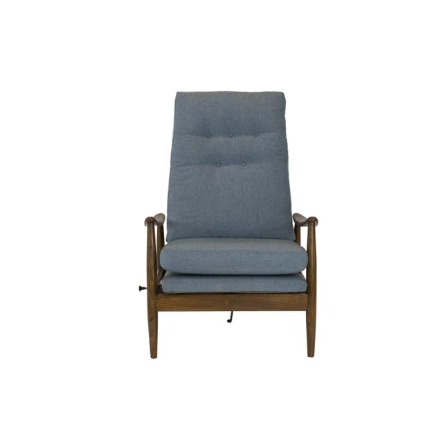 Image of Milo Baughman for Thayer 1950s Recliner & Ottoman