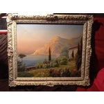 Image of Original Oil Painting Titled Landscape by Carlini