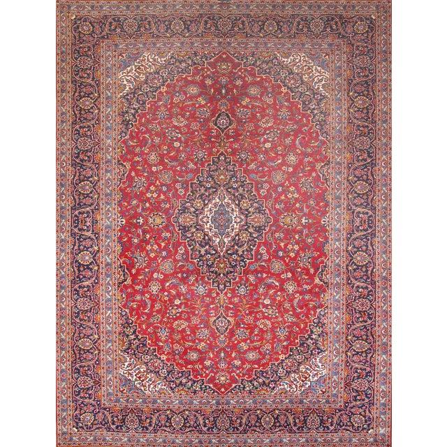 "Image of Pasargad Kashan Collection Rug - 9'10"" X 13'1"""