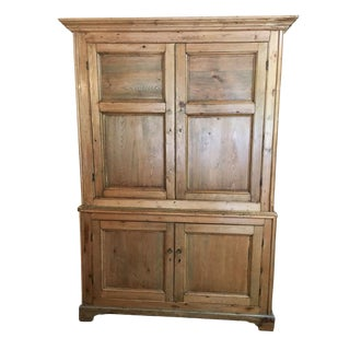 Antique Rustic Country French Armoire