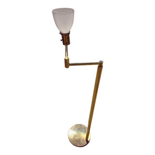 Koch & Lowy Swing Arm Floor Lamp