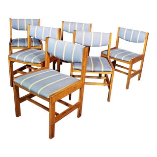 Oak Dining Side/Office Chairs - Set of 6