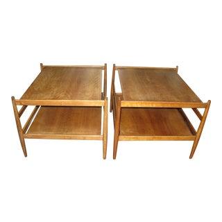 Mid-Century Modern Drexel Suncoast End Tables - A Pair