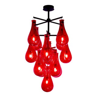Veronese The Drop Chandelier Available in Nine or Thirteen Lights