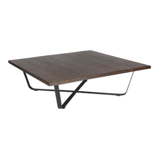 Calligraphy Walnut Coffee Table