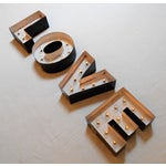 Image of Industrial Light Up Marquee Block Letters - Love