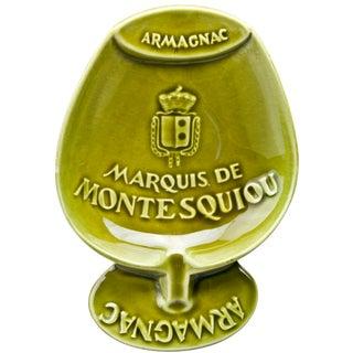 Vintage French Montesquiou Armagnac Ashtray