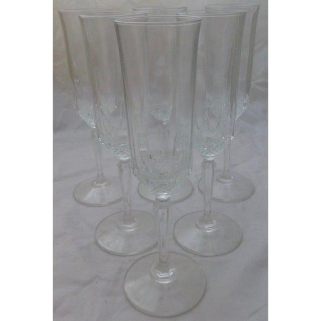 Vintage French Champagne Flutes - Set of 6 - Image 2 of 7