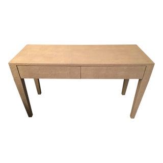 Kara Mann Faux Shagreen Desk