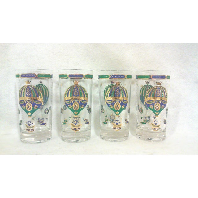 Gilt Bohemian Balloon Bar Glasses - Set of 10 - Image 3 of 8