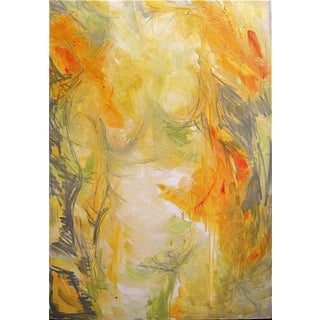 """Trixie Pitts """"Goddess"""" Abstract Painting"""