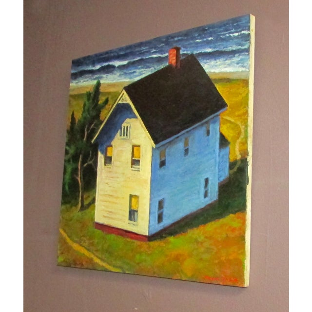 """Image of """"Around the House"""" Oil Painting"""