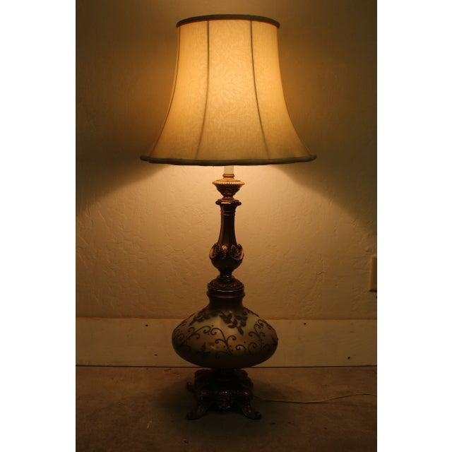 Vintage Hollywood Regency Genie Bottle Lamp Chairish