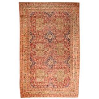 Antique 19th Century Oversize Persian Lavar Carpet