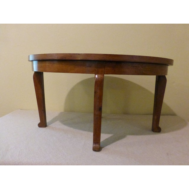 Image of Small Walnut Coffee or Side Table