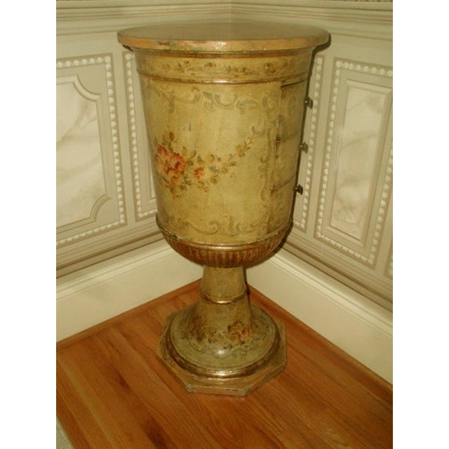 Picie Italian Hand Painted 19th C. Pedestal Table - Image 10 of 10