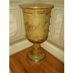 Image of Picie Italian Hand Painted 19th C. Pedestal Table