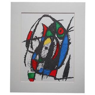 Vintage Ltd. Ed. Joan Miro Lithograph
