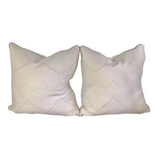 Larsen White Pillow Covers - A Pair