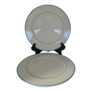 Pagnossin Treviso Italian Large Ironstone Dinner Plates - Pair