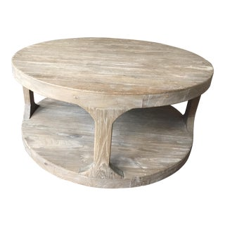 Restoration Hardware Martens Round Coffee Table