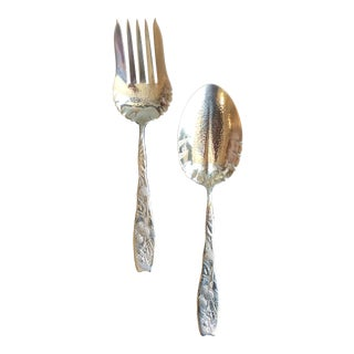 Theodore B. Starr Sterling Silver Serving Set - A Pair