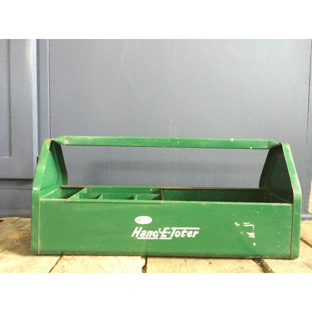 Rustic Green Tool Caddy - Image 2 of 4