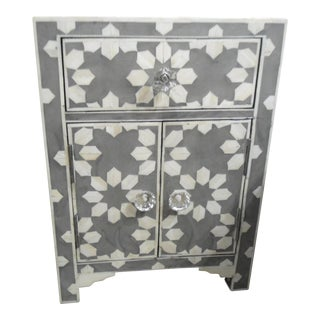 HD Buttercup Bone Inlay Nightstand
