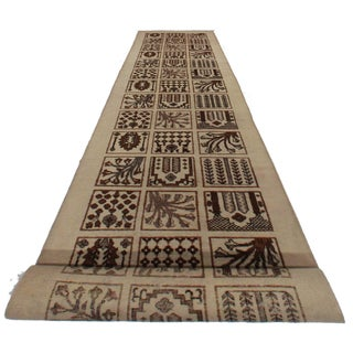 Antique Tabriz Runner - 2′9″ × 16′5″