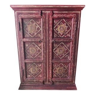 Indian Red Cranberry Sideboard