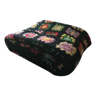 Multicolored Granny Square Blanket