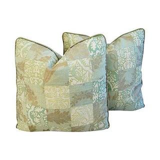 Italian Fortuny Piazetta & Boucher Pillows - Pair