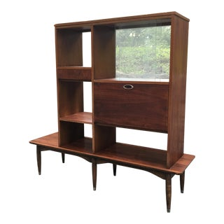 Mid-Century Room Divider Wall Unit